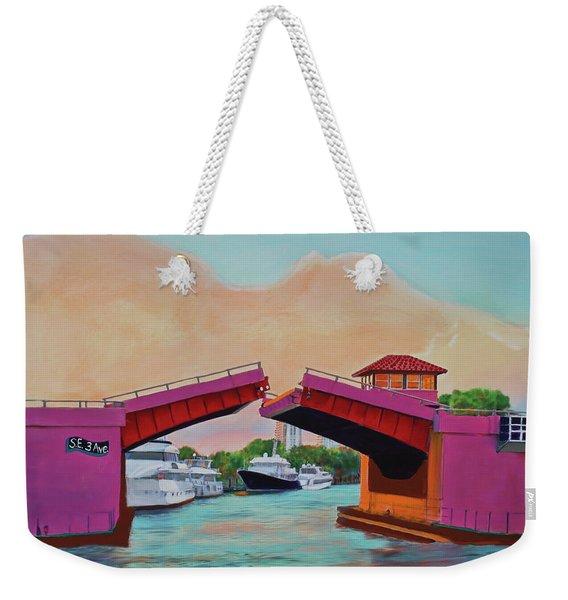 Bridge At Se 3rd Weekender Tote Bag