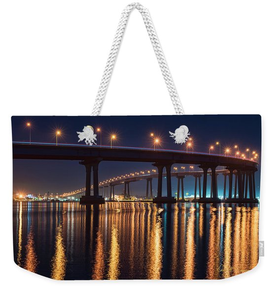 Bridge Bedazzled Weekender Tote Bag