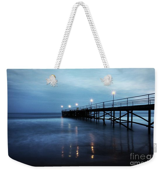 Bridge In The Sea Weekender Tote Bag