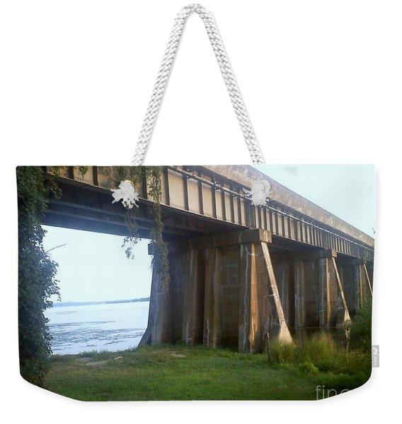 Bridge In Leesylvania Park Va Weekender Tote Bag