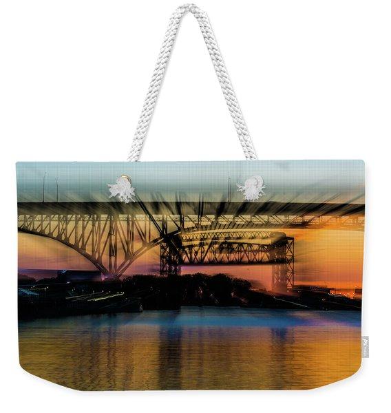 Bridge Motion Weekender Tote Bag