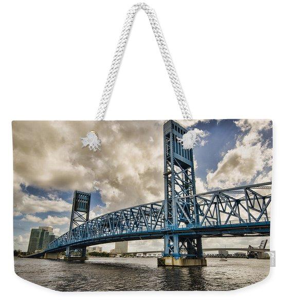 Bridge Of Blues Weekender Tote Bag