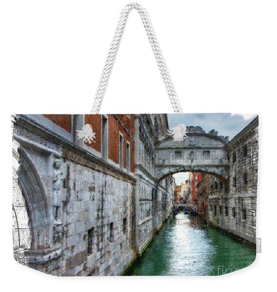 Bridge Of Sighs Weekender Tote Bag