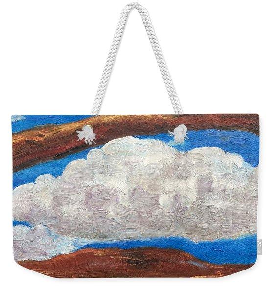 Bridge Over Clouds Weekender Tote Bag