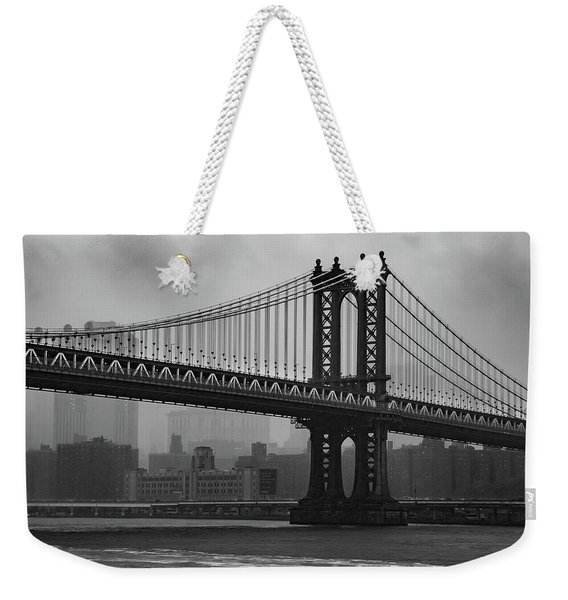 Bridge Over Troubled Water Weekender Tote Bag