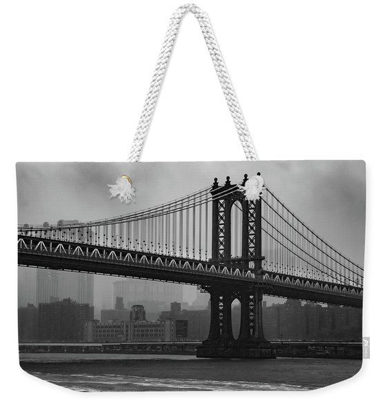 Bridge Over Troubled Water Weekender Tote Bag