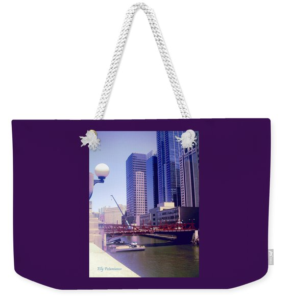 Bridge Overview Weekender Tote Bag