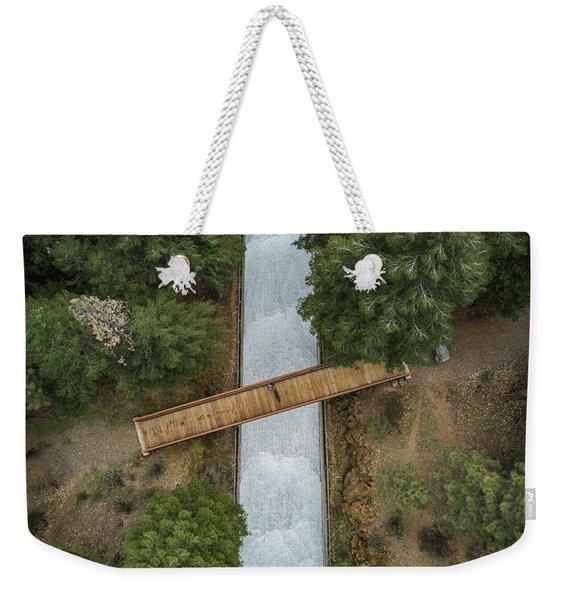 Bridge The Gap Weekender Tote Bag