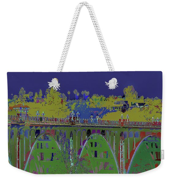 Bridge To Life Weekender Tote Bag