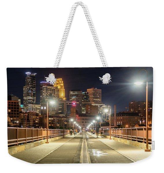 Bridge To Minnapolis Weekender Tote Bag