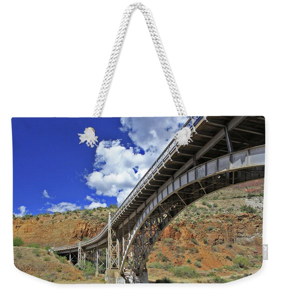 Bridge To Yesteryear Weekender Tote Bag