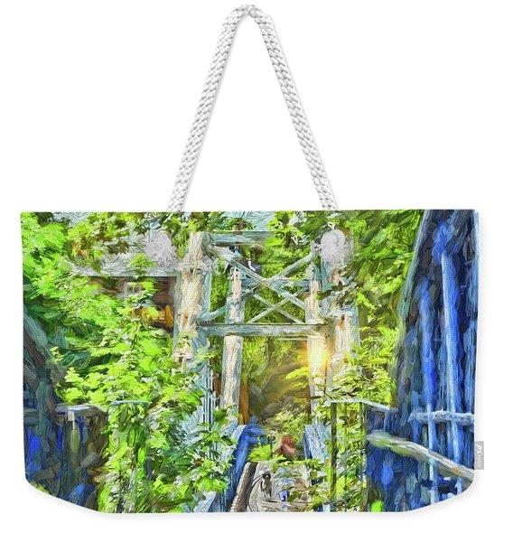 Bridge To Your Dreams Weekender Tote Bag