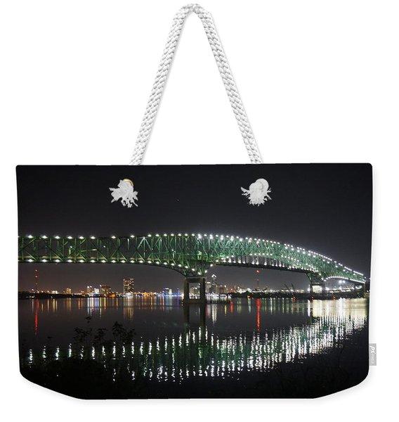 Bridged The Reflection Weekender Tote Bag