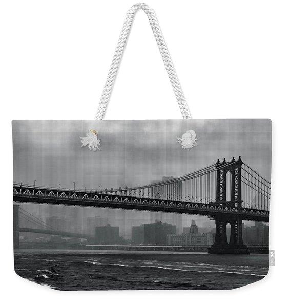 Bridges In The Storm Weekender Tote Bag