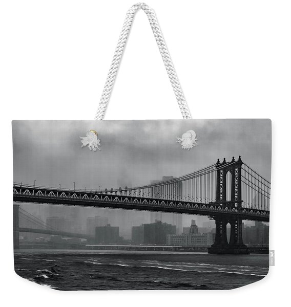 Bridges In The Storm Weekender Tote Bag