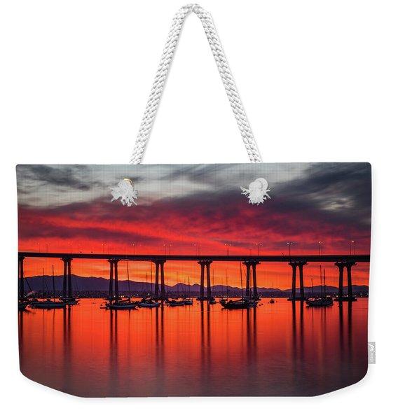 Bridgescape Weekender Tote Bag