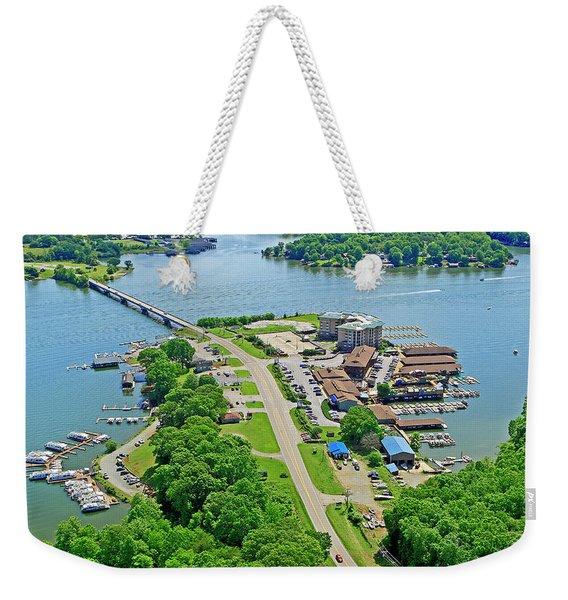 Bridgewater Plaza Aerial Weekender Tote Bag