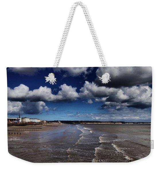 Bridlington Coastline Weekender Tote Bag