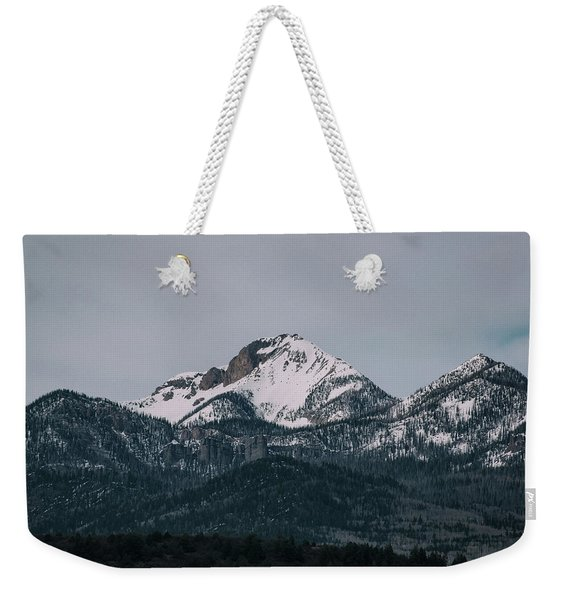 Weekender Tote Bag featuring the photograph Brief Luminance by Jason Coward