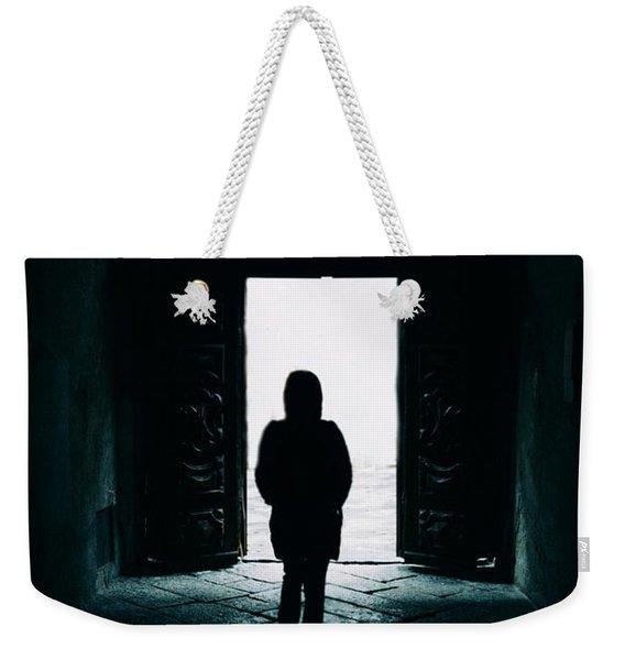Bright Ancient Doorway Weekender Tote Bag