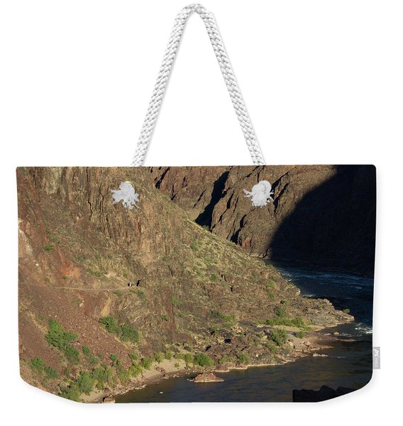 Bright Angel Trail Near The Colorado River Weekender Tote Bag