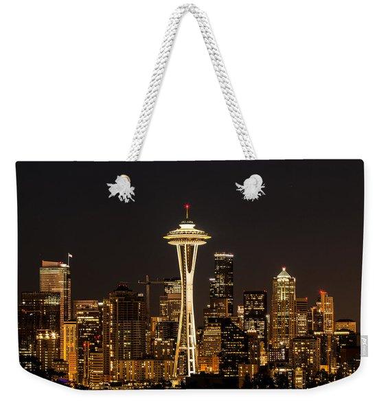 Bright At Night.1 Weekender Tote Bag