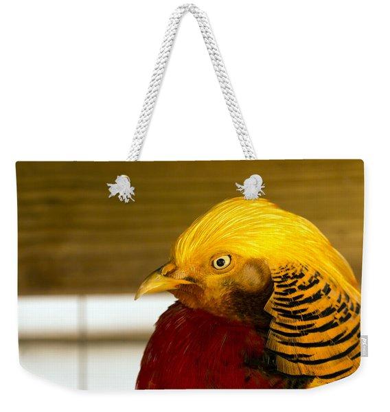 Bright Bird Weekender Tote Bag
