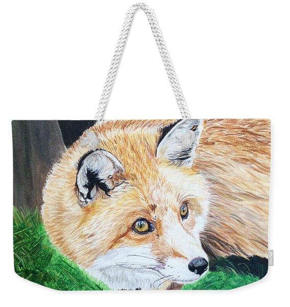 Bright Eyes Weekender Tote Bag