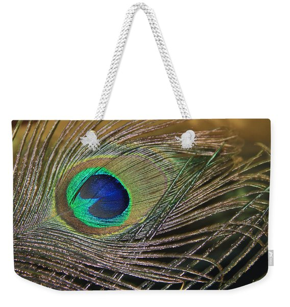 Bright Feather Weekender Tote Bag