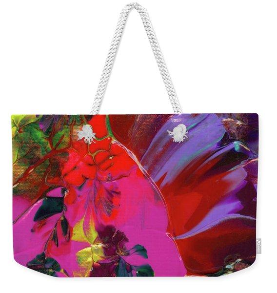 Bright Flaming Sun Flares Weekender Tote Bag