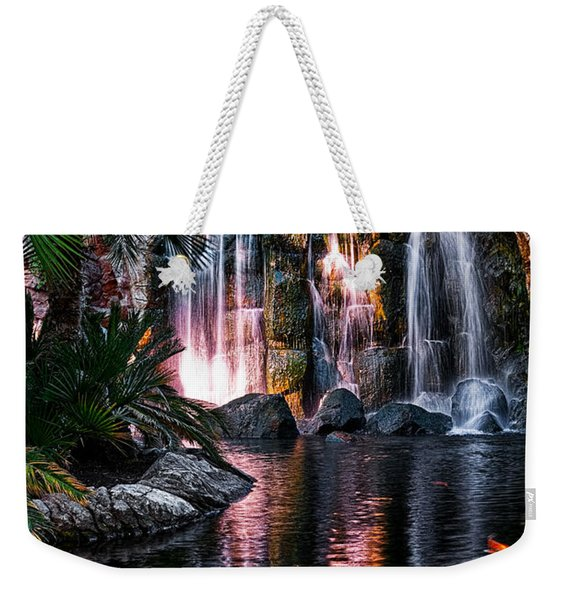 Bright Waterfalls Weekender Tote Bag