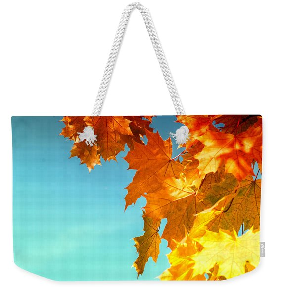 The Lord Of Autumnal Change Weekender Tote Bag