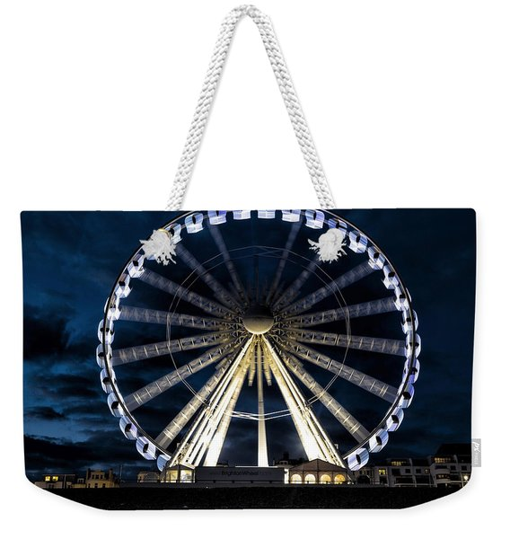Brighton At Night Weekender Tote Bag