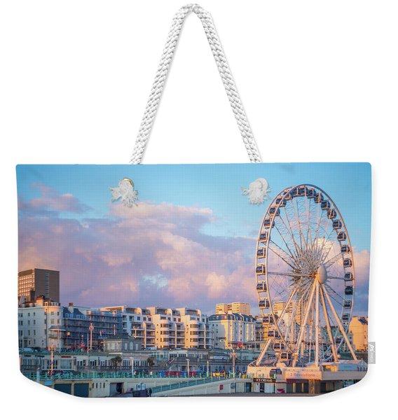 Brighton Ferris Wheel Weekender Tote Bag