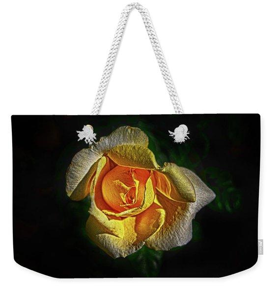 Brilliant Yellow Weekender Tote Bag