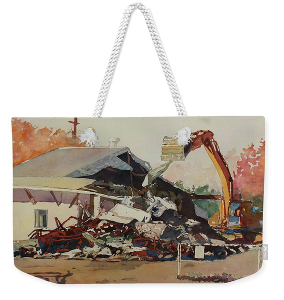 Bringing Down The House Weekender Tote Bag