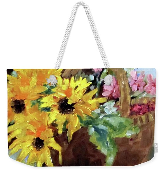 Bringing In The Sunshine  Weekender Tote Bag