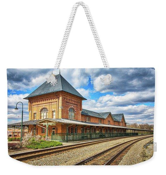 Bristol Train Station Weekender Tote Bag