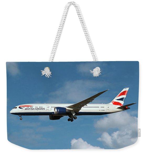 British Airways Boeing 787-9 Dreamliner Weekender Tote Bag
