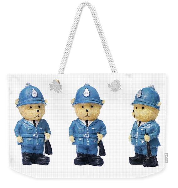 British Bobbies Weekender Tote Bag