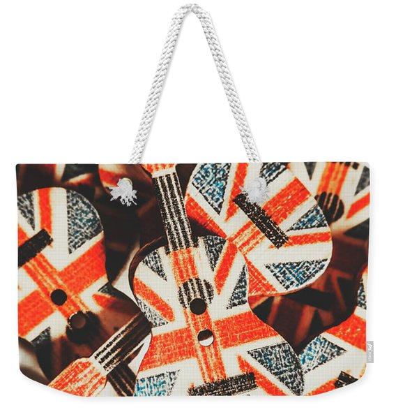 Britpop Nostalgia Weekender Tote Bag