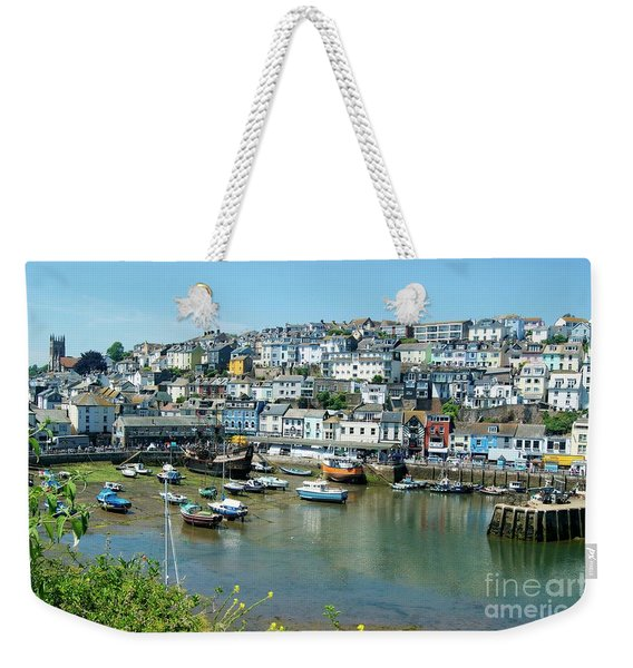 Brixham Harbour Weekender Tote Bag