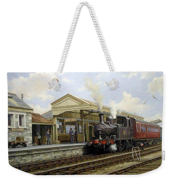 Brixham Station 1950. Weekender Tote Bag
