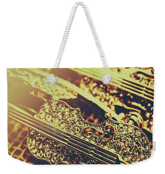 Broaching A Musical Play Weekender Tote Bag