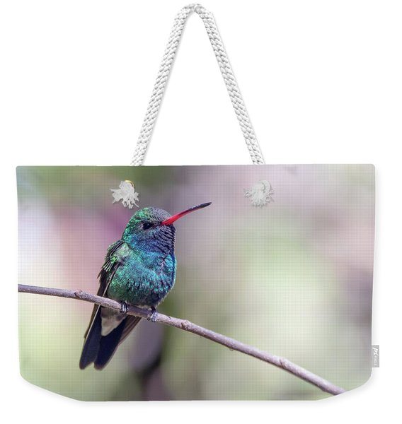 Broad-billed Hummingbird 2008-031718-1cr Weekender Tote Bag