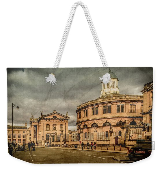Oxford, England - Broad Street Weekender Tote Bag