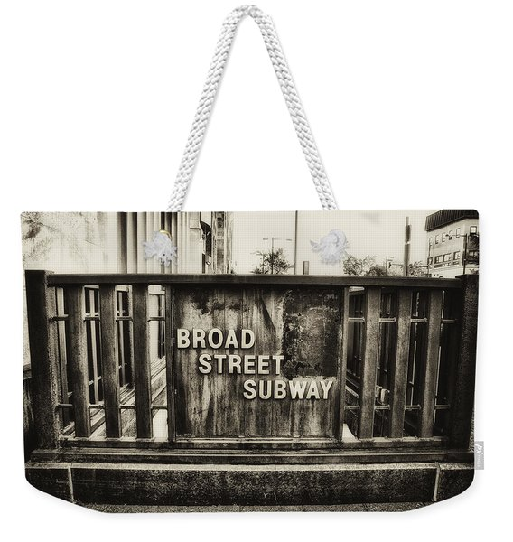 Broad Street Subway - Philadelphia Weekender Tote Bag
