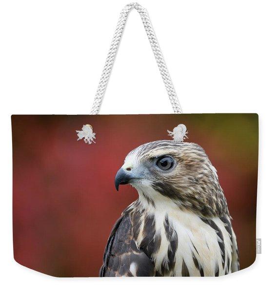 Broad Wing Hawk Weekender Tote Bag