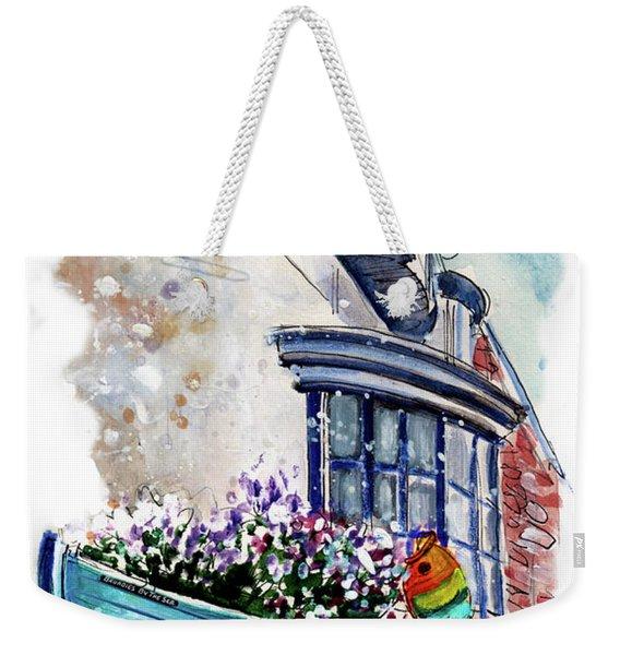 Broadies By The Sea In Staithes Weekender Tote Bag