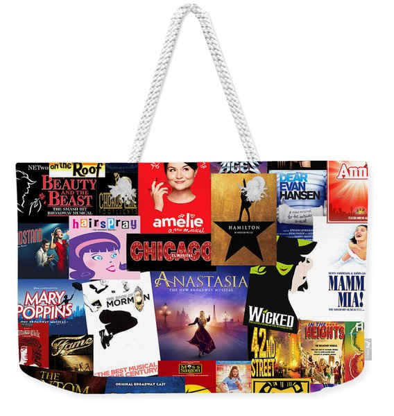 Broadway 15 Weekender Tote Bag